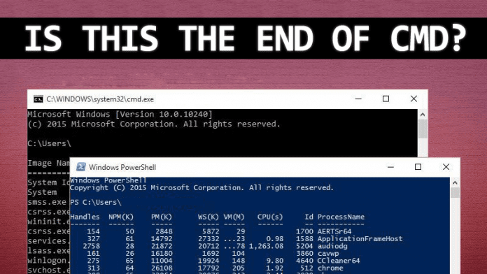 Microsoft Replaces Command Prompt with PowerShell in Latest Windows 10 Build