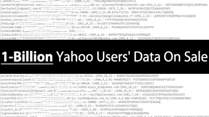 1-Billion Yahoo Accounts Sold For $300,000 On Dark Web