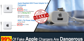 99% Of Fake Apple Chargers Are Dangerous