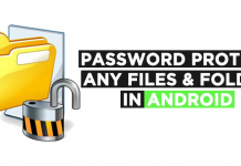 How To Password Protect Any Files & Folder In Android