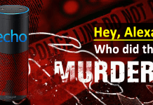 Amazon Echo Might Solve A Murder Case For The First Time
