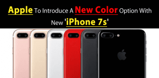 Apple To Introduce A New Colour Option With New 'iPhone 7s'