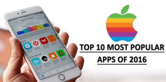 Apple Unveils The Top 10 Most Popular Apps Of 2016
