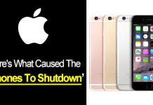 Apple iPhone 6s: Here's What Caused The iPhones To Shutdown