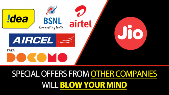 Jio Effect: BSNL, Airtel, Idea And Others Offering Unlimited Calls & Data