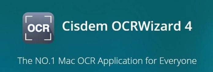 Cisdem OCRWizard 4: Convert and Edit Scanned PDF Documents on MAC OS