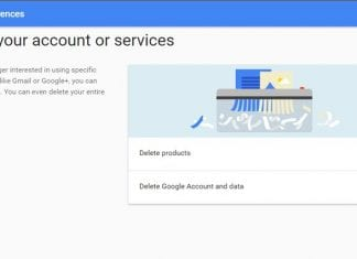Delete Youtube, Google+, Gmail from Your Google Account in One Go