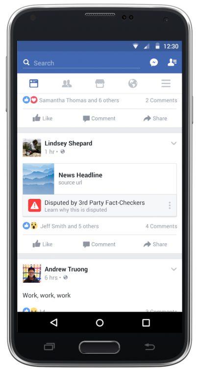 Finally, Facebook Reveals An Actual Plan To Stop Fake News