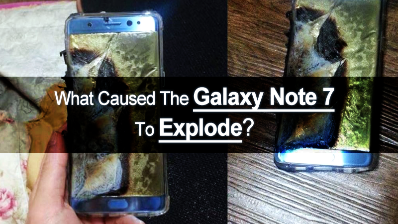 Samsung To Explain What Caused Galaxy Note 7 Smartphones To Explode