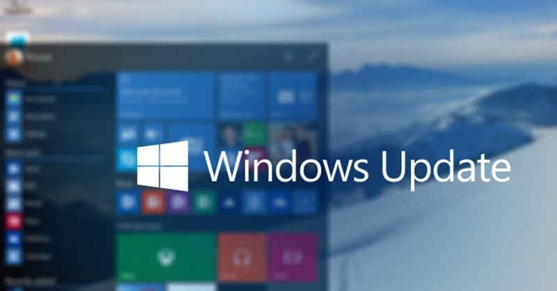 Find Update History in Windows 10