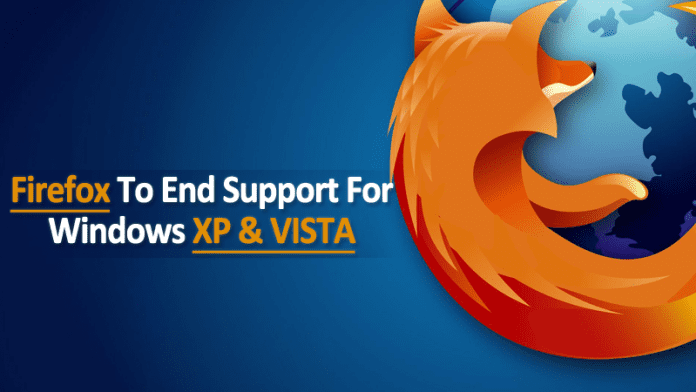 Firefox To End Support For Windows XP And Vista