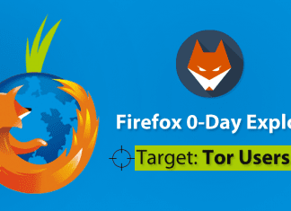 Firefox Zero-Day Flaw To Expose Tor Users