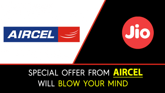 Forget Jio!! This New Offer From Aircel Will Blow Your Mind