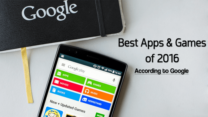 These Are 2016's Best Apps & Games According To Google