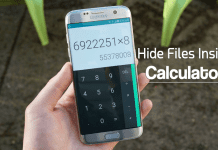 How To Hide Files & Folders Inside Calculator On Android
