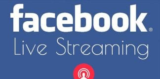 How to Live Stream to Facebook Pages From PC or MAC