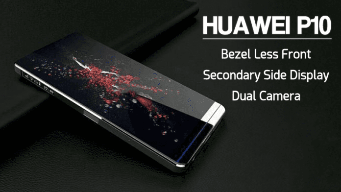 Huawei P10 To Feature Bezel-less Front & Secondary Display On the Side