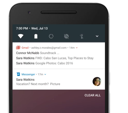 Improved Notification Panel