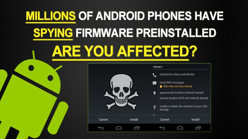 Millions Of Android Phones By Lenovo And Others Running Spyware Apps