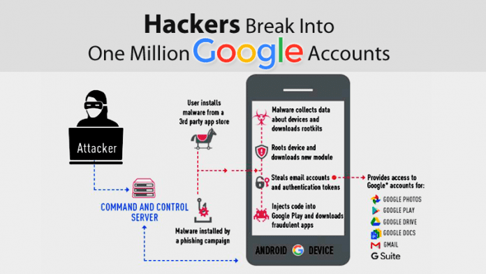 More Than 1 Million Google Accounts Hit By Malicious Android Apps