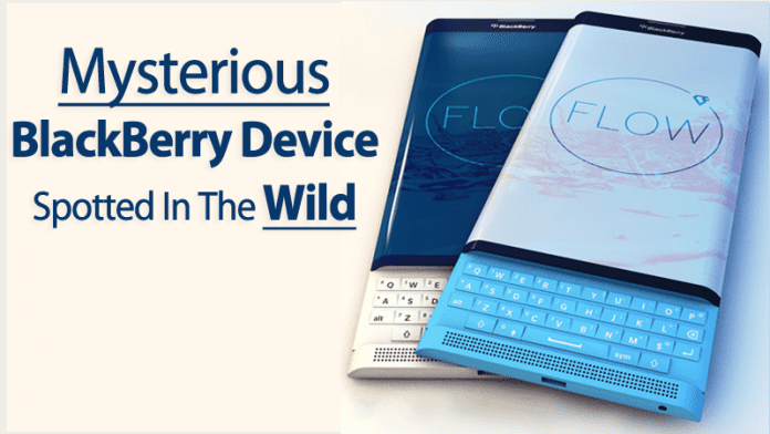 Mysterious BlackBerry Device Spotted In The Wild
