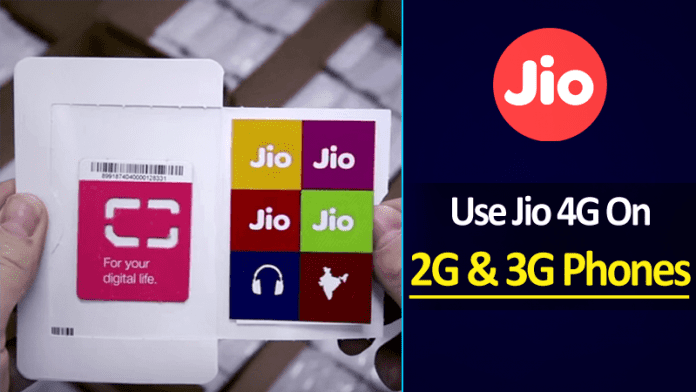 Now You Can Use Reliance Jio 4G Services On 2G And 3G Smartphones