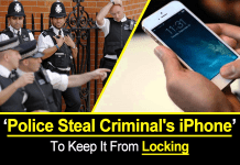 Police Steal Criminal's iPhone To Keep It From Locking