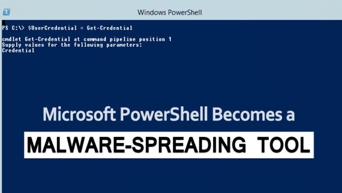Microsoft PowerShell Becomes A Powerful Malware Spreading Tool