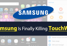 Samsung Is Finally Killing Its TouchWiz UI