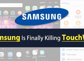 Samsung Is Finally Killing Its TouchWiz UI