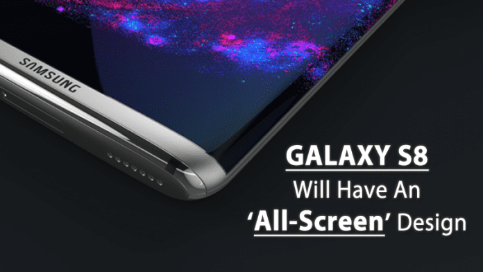 Samsung's Galaxy S8 Will Reportedly Have An 'All-Screen' Design