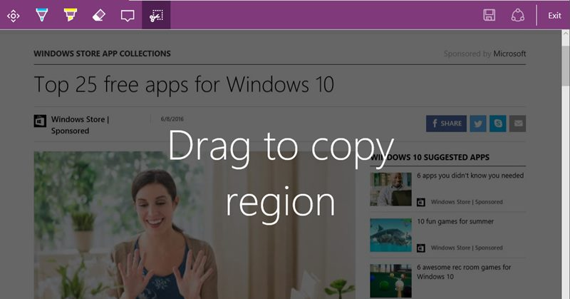 Take Full Webpage Screenshots in Microsoft Edge
