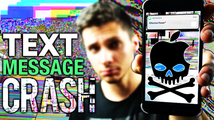 This Text Message Will Crash & Break Any iPhone Messages App