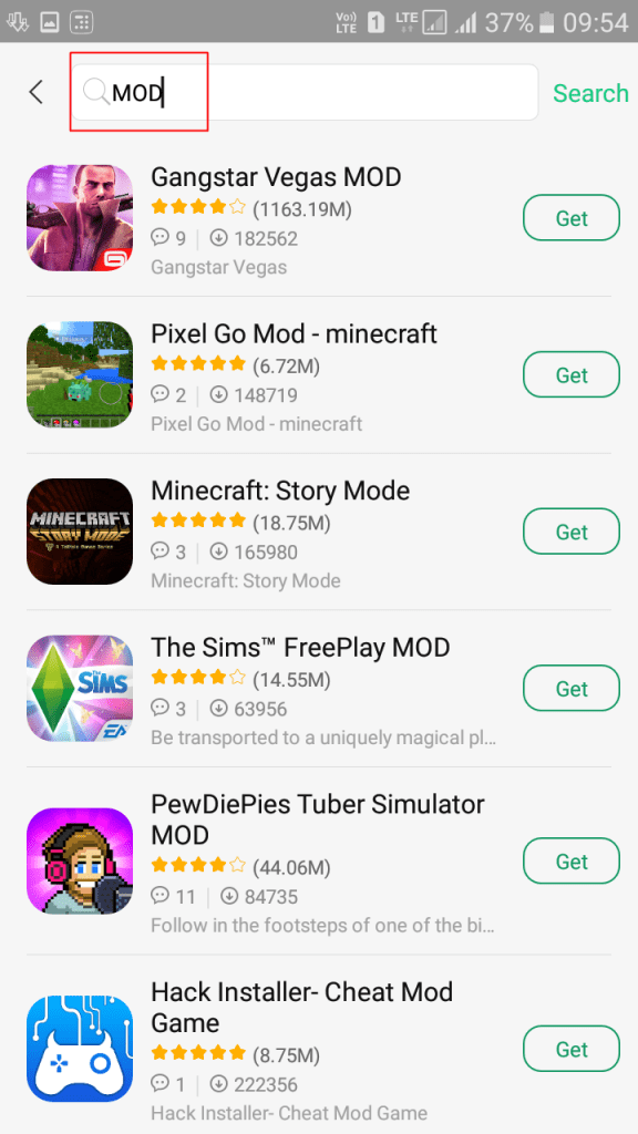 Download Modded Games Directly On Your Android Device