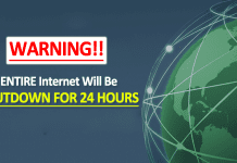 WARNING!! The ENTIRE Internet Will Be SHUTDOWN For 24 Hours