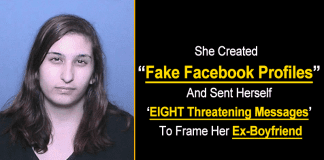 Woman Jailed For Creating Fake Facebook Profile To Frame Ex