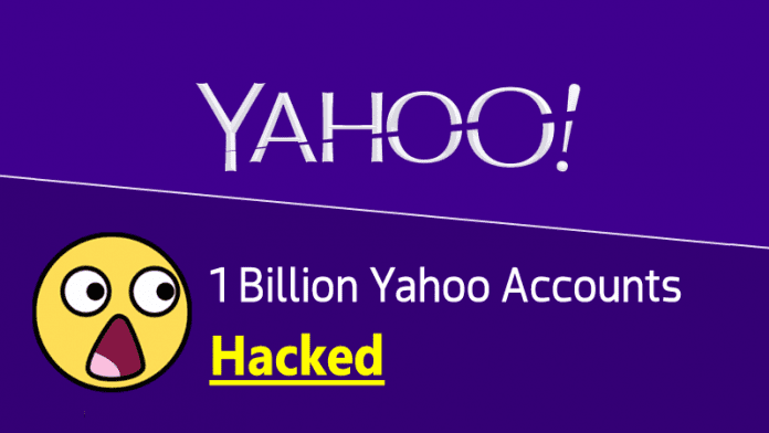 It's Confirmed! One Billion Yahoo Accounts Hacked