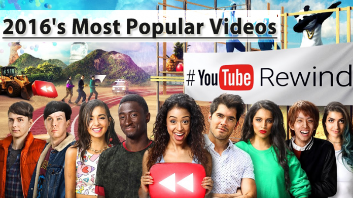 YouTube Just Announced 2016's Most Popular Videos