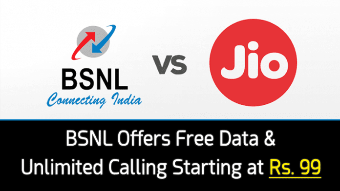 Forget Reliance Jio! This Rs.99 Offer From BSNL Will Blow Your Mind