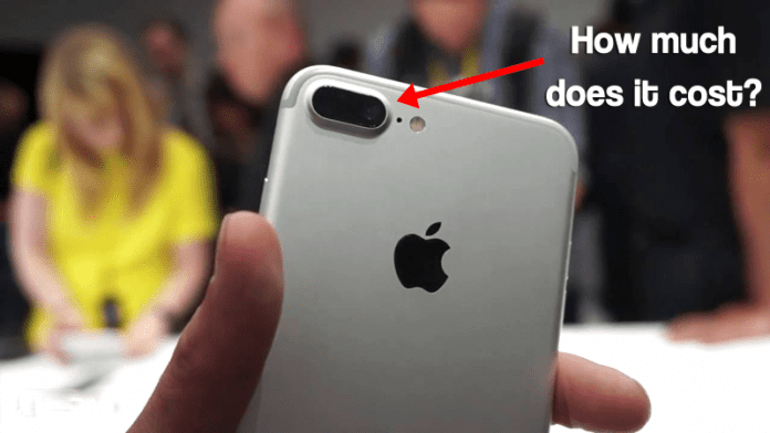 Ever Wondered How Much An iPhone 7's Camera Costs?