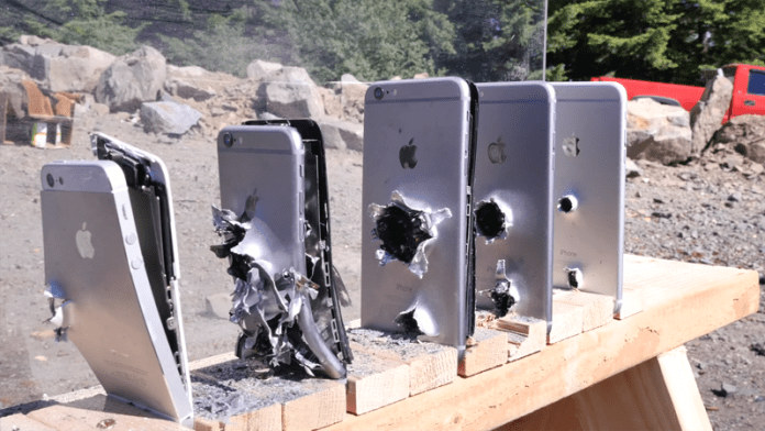 Ever Wondered How Many iPhones Does It Take To Stop an AK-74 Bullet?