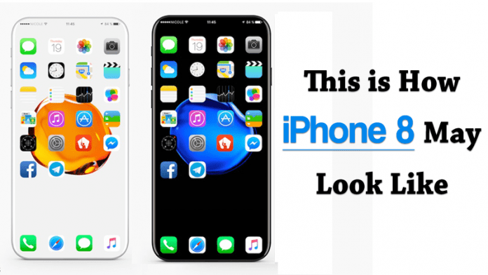This is How Upcoming iPhone 8 May Look Like