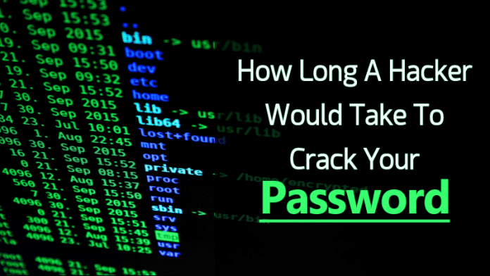 This Website Shows How Long A Hacker Would Take To Crack Your Password