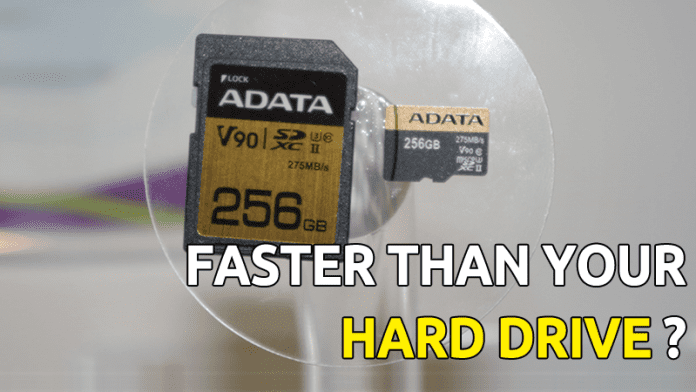 This 256GB microSD Card Might Be Faster Than Your Hard Drive