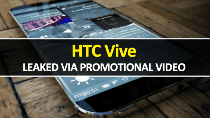 Alleged HTC Vive Smartphone Leaked Through Promotional Video