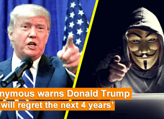 Anonymous Declares War On Donald Trump And Threatens To Expose