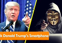 Anonymous Publish A Simple Guide On How To Hack Donald Trump's Smartphone