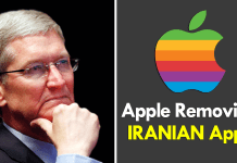 Apple Removing Iranian iOS Apps From The App Store