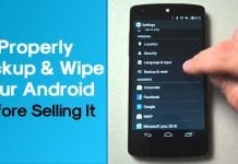 How to Properly Backup and Wipe Your Android Before Selling It