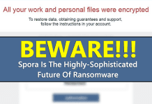 Beware! Spora Is The Highly-Sophisticated Future Of Ransomware